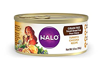 Natural Wet Dog Food for Small Breed Adult Dogs from Halo, Purely For Pets
