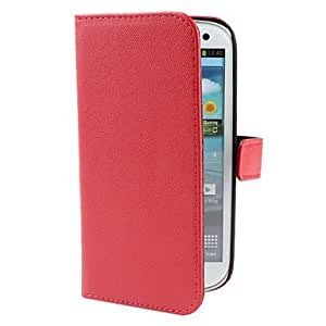 PU Leather Case with Card Slot and Stand for Samsung Galaxy S3 I9300 (Assorted Colors) --- COLOR:White