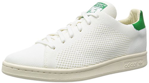 Adidas Originals Mens Stan Smith Og Pk Moda Sneaker Bianco-verde