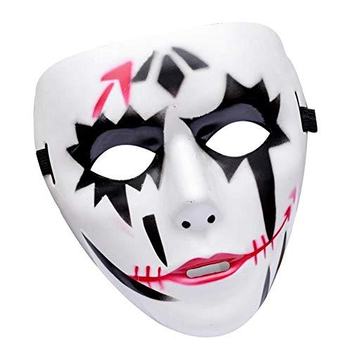Sunnylela Halloween Cosplay Mask- Ghost Dance Street Dance Mask Masquerade Halloween Mask]()