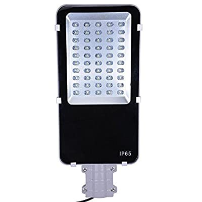 50-Watt IP65 LED 5500LM Wired Road Driveway Flood Light Street Lamp Cool White for Home Garden Hotel Resort Restaurant Café