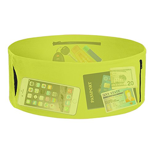 The TUBE Patented Wearable Running Fitness Travel & Sports Storage Waist Belt