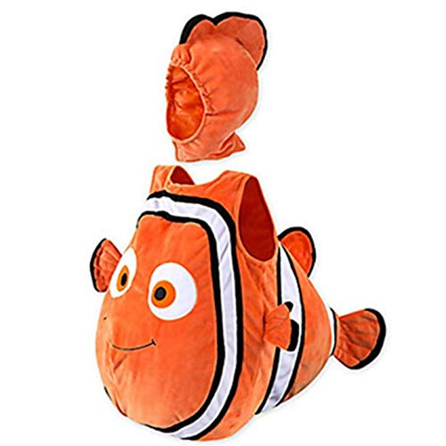 Child Baby Fish Clown Animated Baby Halloween Christmas Cosplay Costume ()