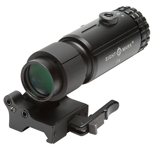 Sightmark SM19064 Magnifier with Lqd Flip to Side Mount, T-5, Black
