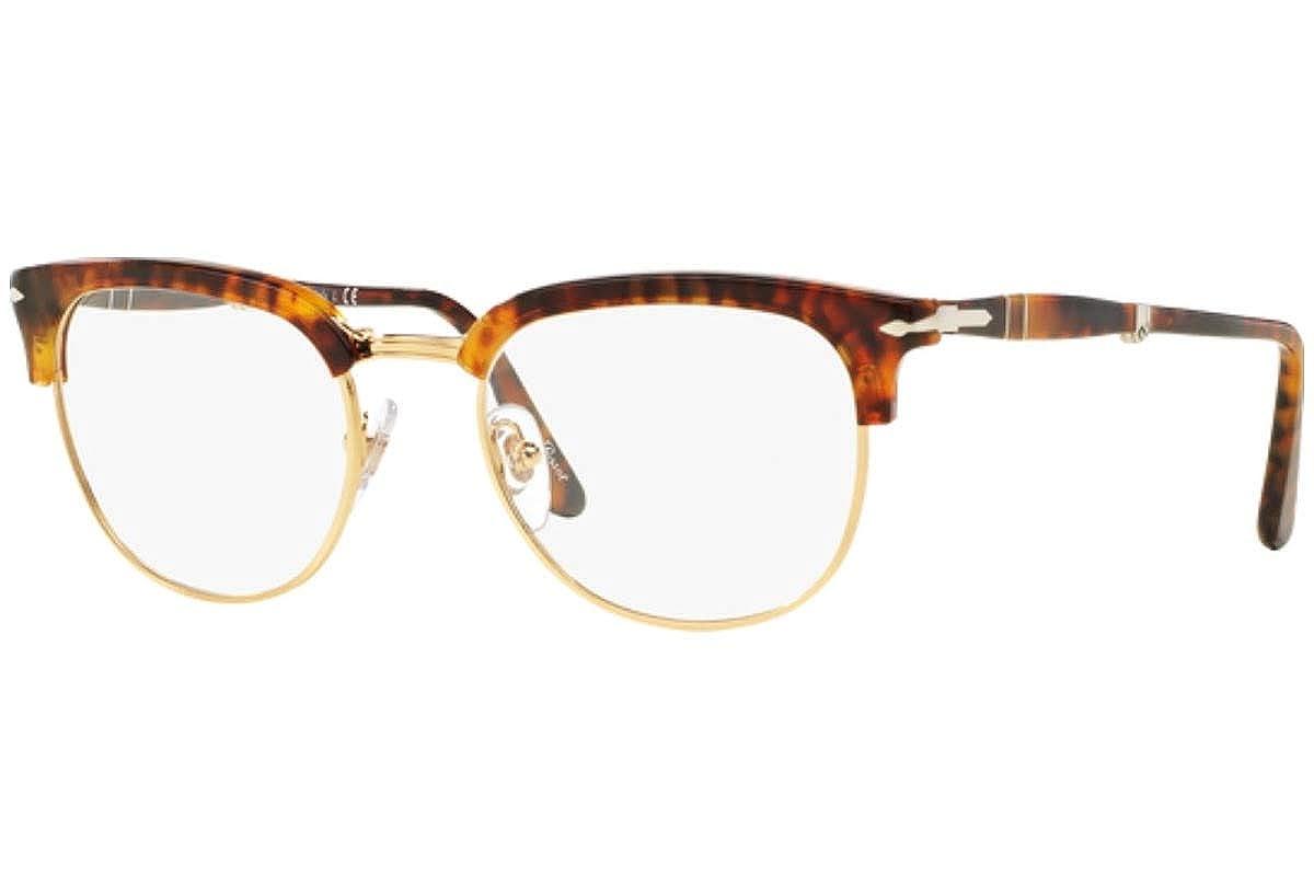 4b928c040fd35 Persol PO3132V Eyeglasses 49-20-145 Coffee Havana Vintage Celebration 108  PO3132-V at Amazon Women s Clothing store