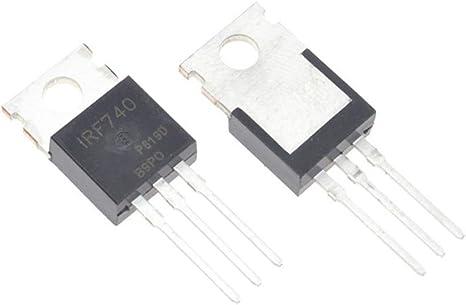 10PCS RF740 IRF740PBF MOSFET N-Chan 400V 10 Amp TO-220 original