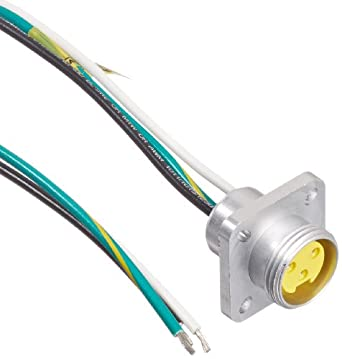 Brad 1r3g04a20a120 mini change a size receptacle with lead female brad 1r3g04a20a120 mini change a size receptacle with lead female straight 3 pole flange ul1061 cable type pvc cable jacket 16awg wire size 130a max keyboard keysfo Image collections