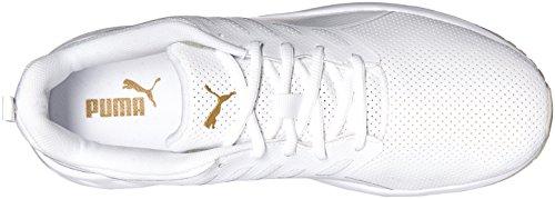 White Leather PUMA Mens PUMA Fashion Flare Mens Puma Sneaker xOqw8Zn