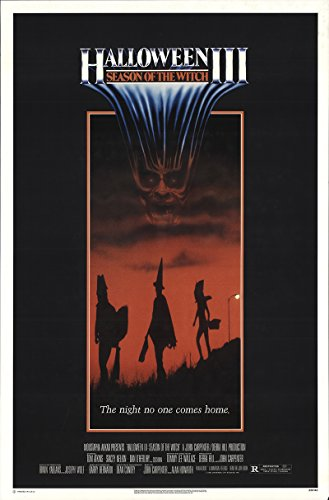 Halloween Iii: Season of the Witch 1982 Authentic Original Movie Poster Rolled Fine, Very