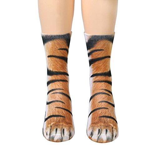 Song Qing Unisex 3D Print Animal Foot Hoof