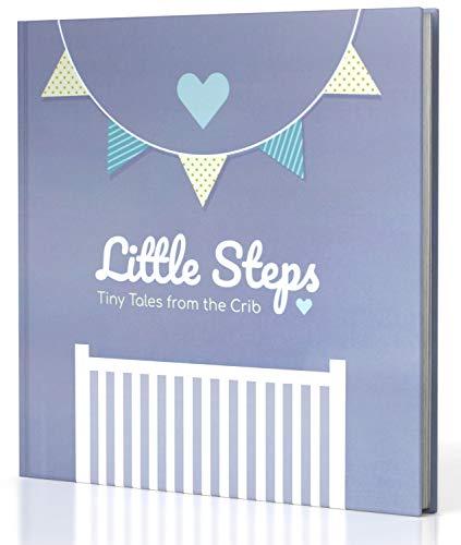 JubyJoy First Year Baby Memory Book – Bonus 12 Monthly Milestone Stickers + Keepsake Envelope, Baby Shower Gift Set for Expecting Parents | Boy & Girl Babies – Photo Album & 5 Year Scrapbook from JubyJoy
