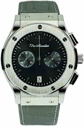 138b73abe Elico Assoulini SU75982 Doppio Men's Luxury Wrist Watch - Japanese Quartz  Chronograph - 52mm Case Size
