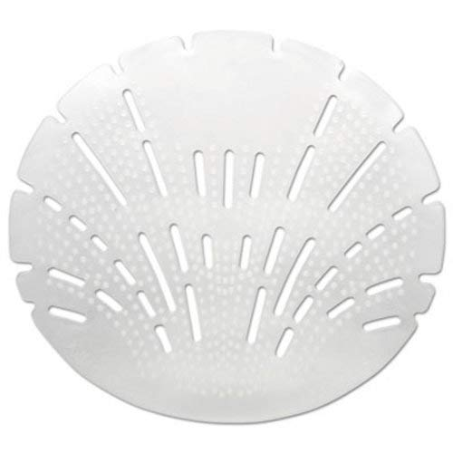 Big D 621CT Pearl 3D Urinal Screen, Melon Mist, Clear, 10/Pack, 6 ()