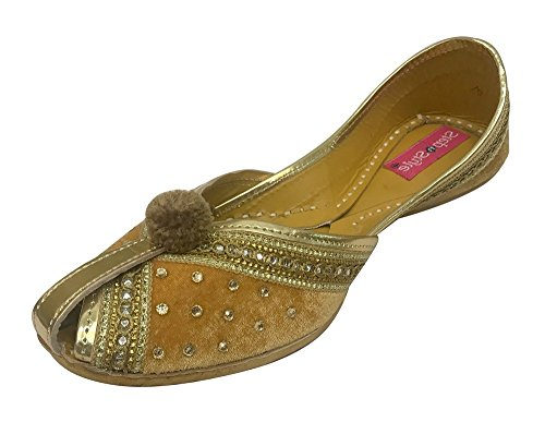 Khussa Juntos Couro De Mulheres Aleta Sandálias Do Falhanço Jutti Etapa Sapatos Indiana N Artesanal Panjabi E Estilo 8Upgp