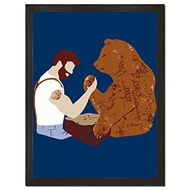 Arm Wrestle Print