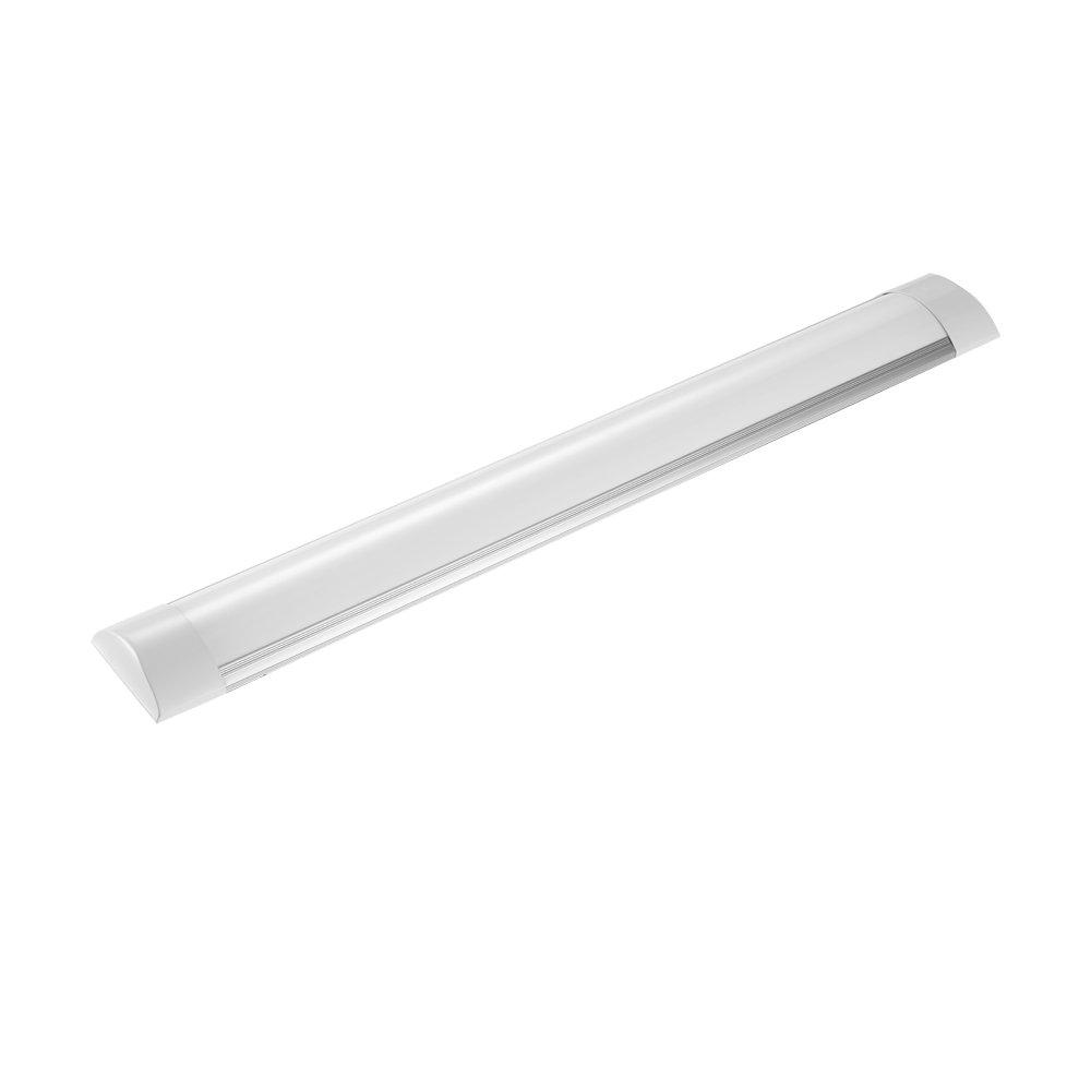 LED Closet Light, LED Strip Light,LED Ceiling Light 30W 60cm 3000lm 4000K Neutral White Aluminum + PC For Home Under Cabinet LED Lighting, Office and Commercial 110V