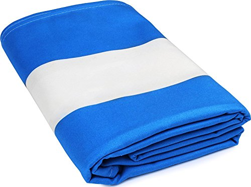 Microfiber-Beach-Pool-Sheet-70-x-35-Inch-Blue-Cabana-Stripe-Lightweight-Extra-Large-Stripe-towel-design-for-Pool-Swim-Beach-Travel-Camping-by-Utopia-Bedding