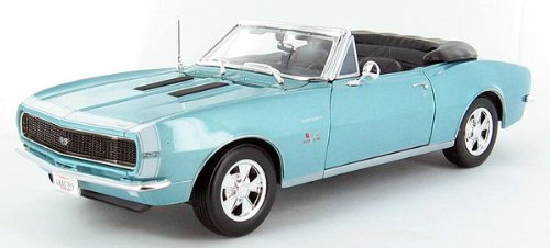 B2B Replicas MAI31684MT MAISTO - 1967 Chevrolet Camaro SS 396 Convertible