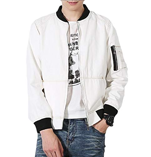 Coats Size Plus Fit Energy Jacket White Baseball Slim Fit Classic Mens Relaxed Snqw0Bv