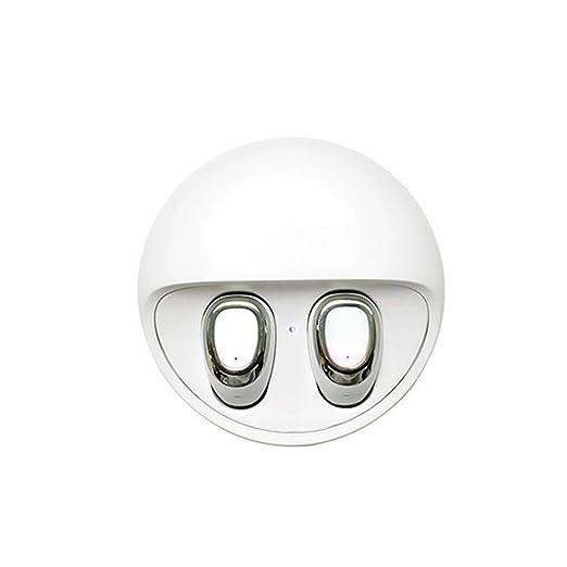2019 Beats audífonos Mini inalámbricos Bluetooth Gemelos estéreo intraurales Auriculares Free Blanco: Amazon.es: Electrónica