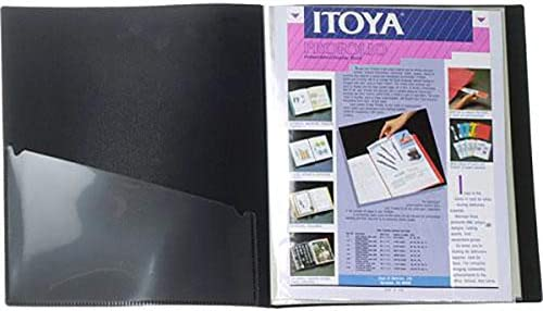 120 Views 60-8.5 x 11 Inches Pocket Pages Itoya Archival Art Profolio Presentation Book