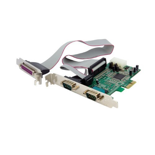 StarTech.com PEX2S5531P 2S1P Native PCI Express Parallel Serial Combo Card with 16550 UART by Portable & Gadgets by Portable & Gadgets