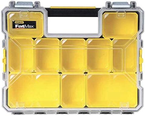 2 x Stanley FatMax DEEP Waterproof Pro Organiser Metal Latch 1-97-518 STA197518