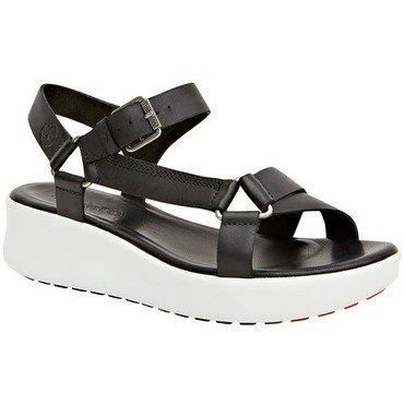 Timberland Womens Los Angeles Wind Sporty Sandal, Black/Jet Black, Size 10