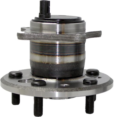 FWD ONLY REAR Passenger Wheel Hub and Bearing Assembly fits Lexus ES300 ES330 ES350 Avalon Camry Solora 5 Lug W/ABS 512207
