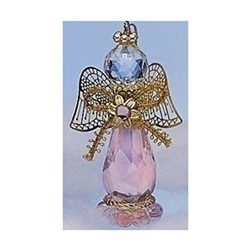 Birthstone Angel Ornament October