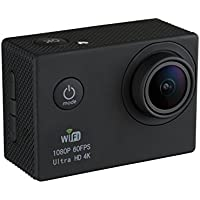 GVB GVB-CM Ultra HD 4k Wide Angle Sports Action Camera with Waterproof Housing (Black)
