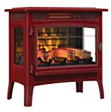 Duraflame 3D Infrared Electric Fireplace Stove with Remote Control - DFI-5010