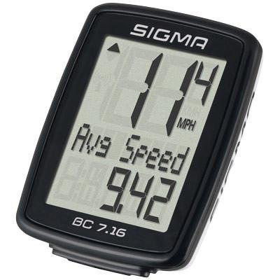 Bicycle Monitor (SIGMA BC1706HR DTS Wireless Bicycle Speedometer with Heart Rate Monitor)