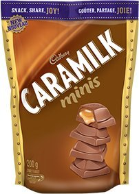 Cadbury Caramilk Minis - Bite Sized 200g {Imported from Canada}