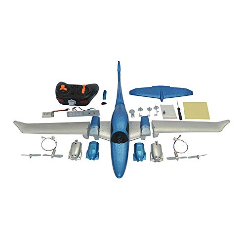 Waymine 2.4G 3-Axis Gyro 548mm Wingspan Remote Control DIY Glider Fixed Wing RC Airplane