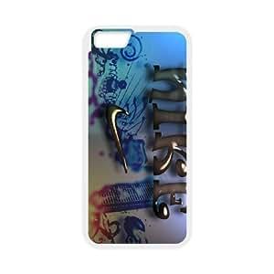 S marcas anunciantes NIKE USCOULNIKE funda iPhone 6s de 4.7 pufunda LGadas del teléfono celular de cubierta blanca funda, funda de plástico caja del teléfono celular