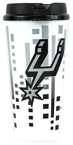 The Memory Company NBA San Antonio Spurs Hype Travel Cup, 32-Ounce from The Memory Company