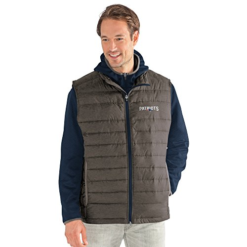 G-III Sports NFL New England Patriots Adult Men Cold Front 3-in-1 Systems Jacket, X-Large, Navy/Gray (G-iii Mens Jacket)