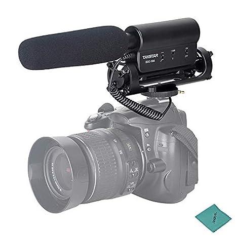 TAKSTAR Condensador Fotografía Entrevista Micrófono de grabación ...
