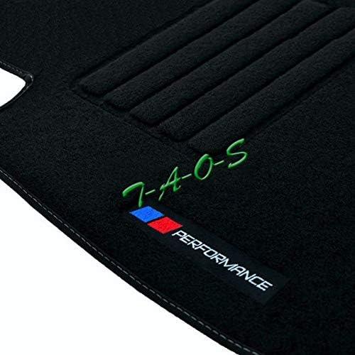TAOS ma/ßgeschneiderte Fu/ßmatten aus Velours Performance PB f/ür X5 E53 von 1999 bis 2006 1190412601
