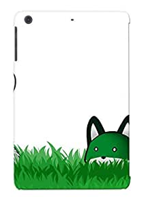 Awesome 712b60b2800 Crazylove Defender Tpu Hard Case Cover For Ipad Mini/mini 2- Green Fox Cartoon Background