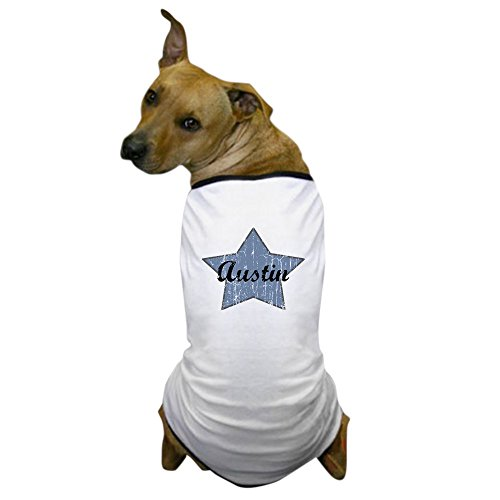 CafePress - Austin (blue star) Dog T-Shirt - Dog T-Shirt, Pet Clothing, Funny Dog Costume