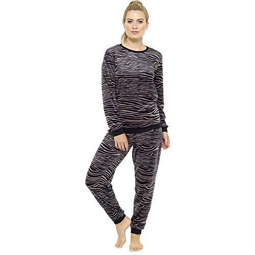 rayas estampado con de pijama Eesa para mujer de de Adam Conjunto qHZaw