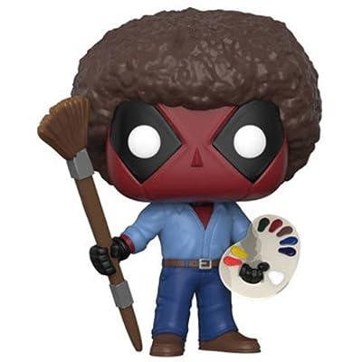 Funko POP! Marvel: Deadpool Playtime- Bob Ross: Funko Pop! Marvel:: Toys & Games