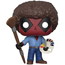Funko Pop Marvel: Deadpool Playtime-Bob Ross Collectible Figure, Multicolor
