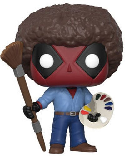 Funko POP! Marvel: Deadpool Playtime- Bob Ross