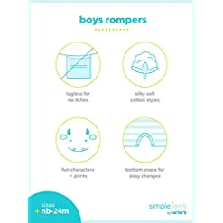 Simple rompers