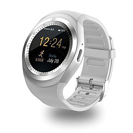 Reloj Smartwatch Bluetooth Reloj Inteligente Smartwatch sim Smart Watch Hombre Fitness Tracker Waterproof Manual de Instrucciones