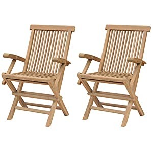 41aO923S%2BeL._SS300_ Teak Dining Chairs & Outdoor Teak Chairs