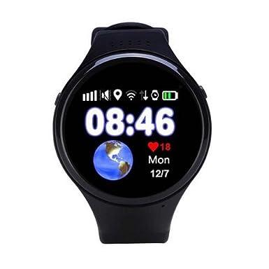 Reloj inteligente teléfono T88 1,22 pulgadas mtk2503 GPS WIFI GPS LBS SOS Llamada Tracker Smartwatch Kid Safe Reloj Monitor anti-lost: Amazon.es: ...